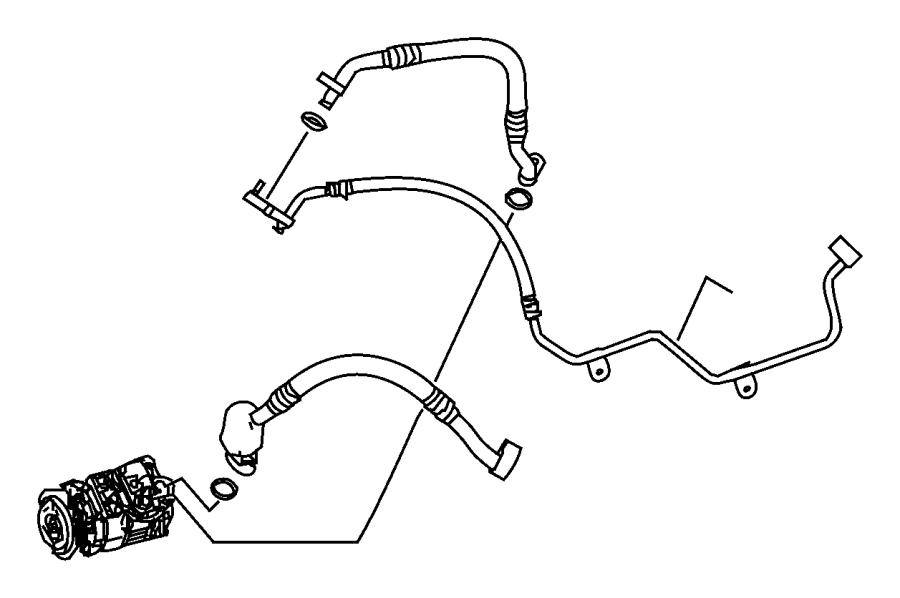 Dodge Sprinter 2500 A/c compressor. Repair, make