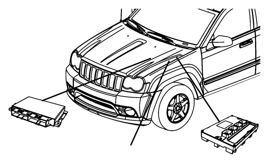 Jeep Grand Cherokee Engine Control Module. 3.0 LITER, w/o