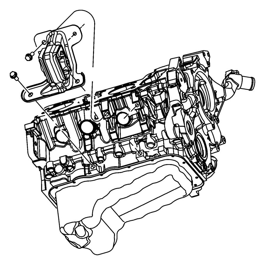 Jeep Liberty Mount. 3.7 LITER. Liberty; Right. Nitro