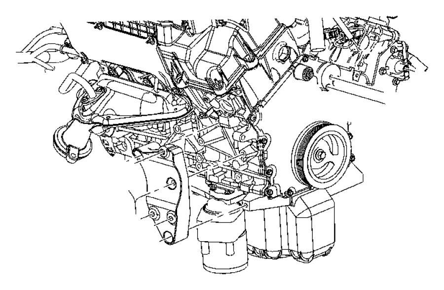 Chrysler 300 Engine Crankshaft Pulley. 2.7 LITER. Charger