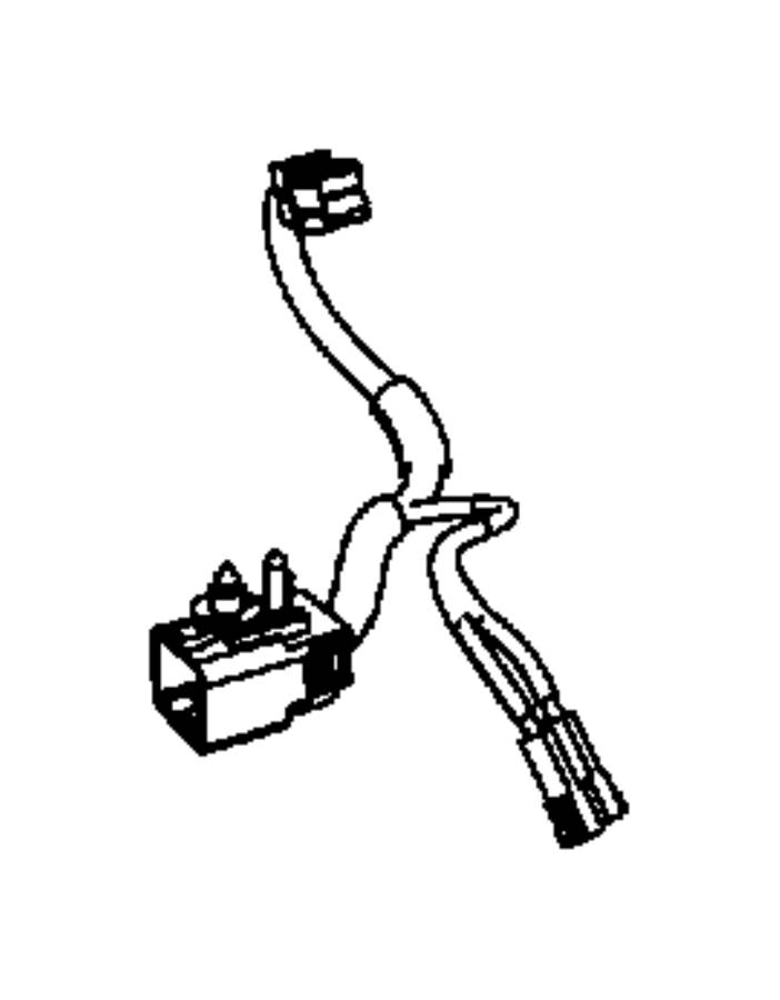 Ram C/V Console Wiring Harness. Overhead console. Wire