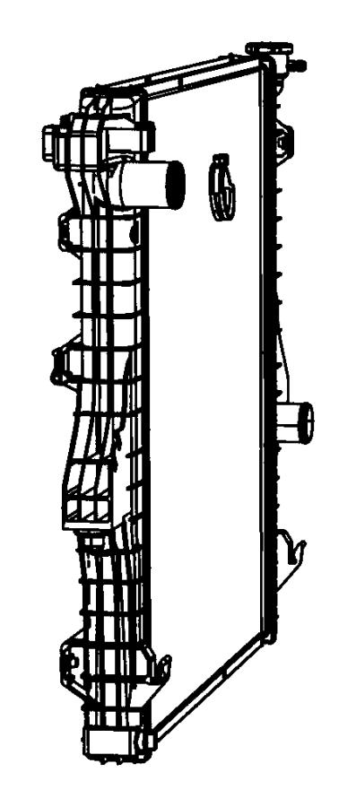 Ram 3500 Radiator Drain Plug. Liter, DIESEL, PRIMARY