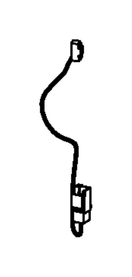 Jeep Liberty Hvac system wiring harness. Hvac system