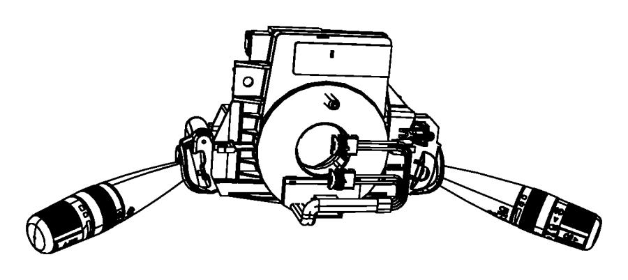 Jeep Wrangler Wiper. Switch. Front. Windshield. W/o rear