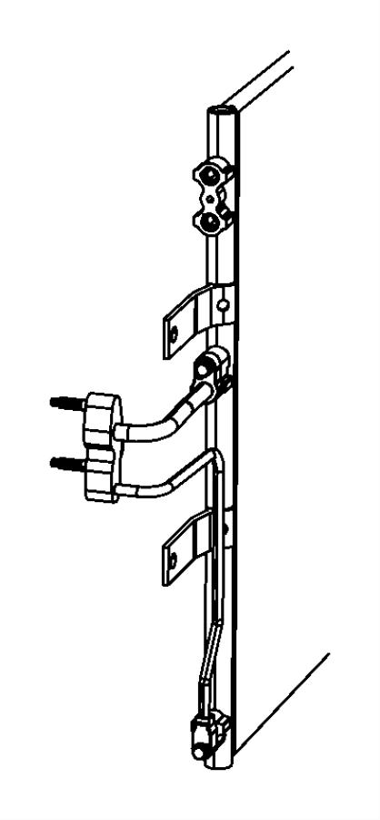 Dodge Ram 2500 A/c refrigerant hose. Conditioning, line