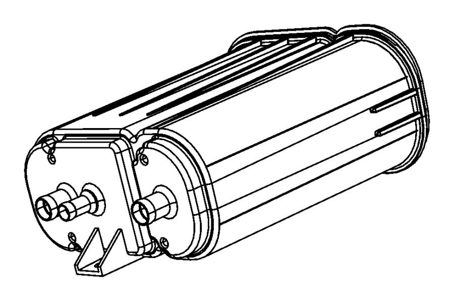 Dodge Caravan Vapor Canister. EMISSION, LITER, Evaporative