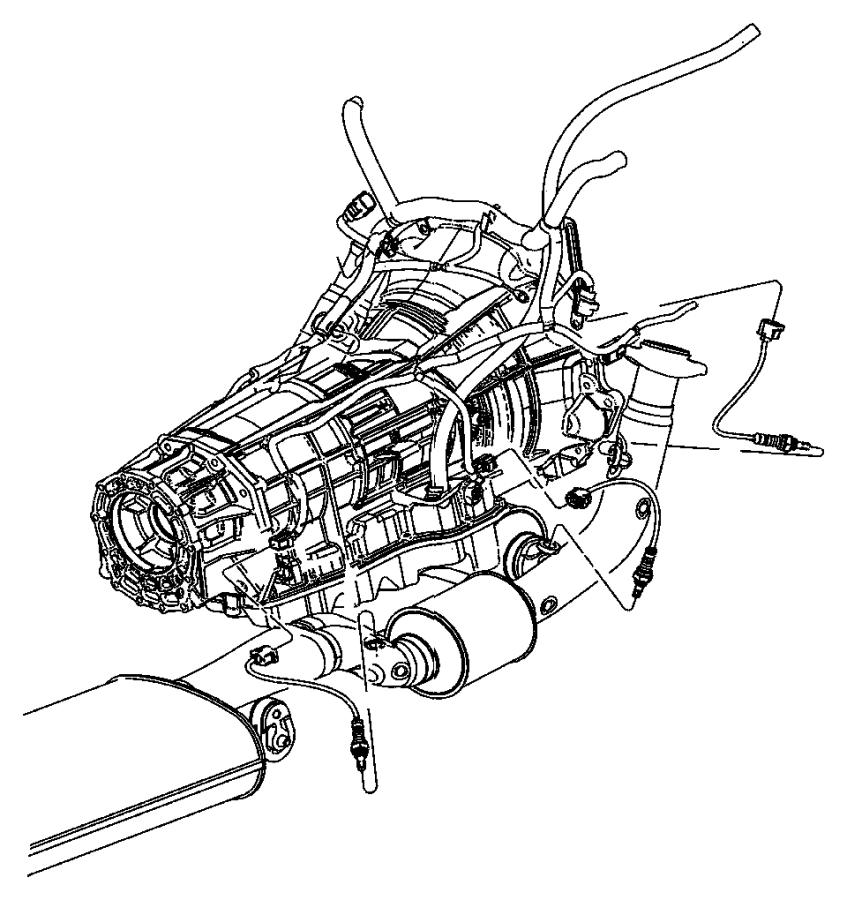 Jeep Grand Cherokee Oxygen Sensor (Front, Rear). Sensor