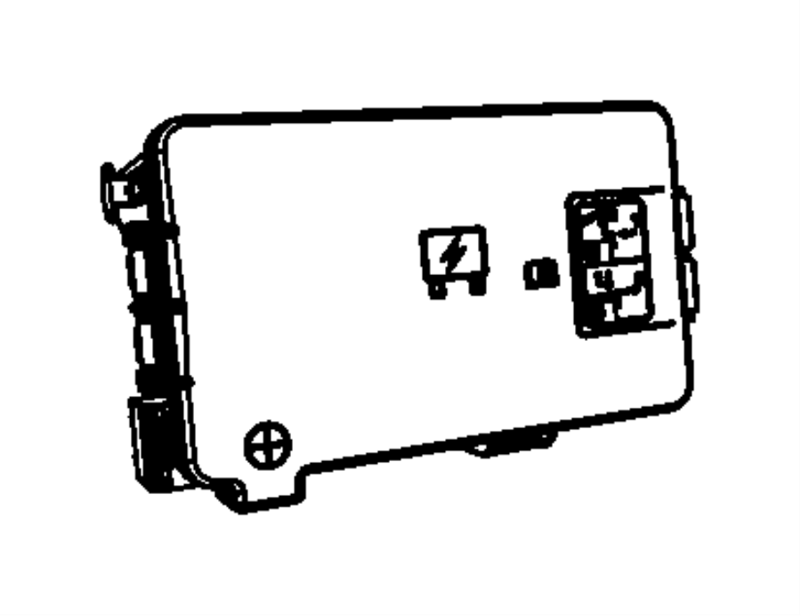 Ram 3500 Fuse Box. 6.7 liter. Telematics, Lighting, FCA