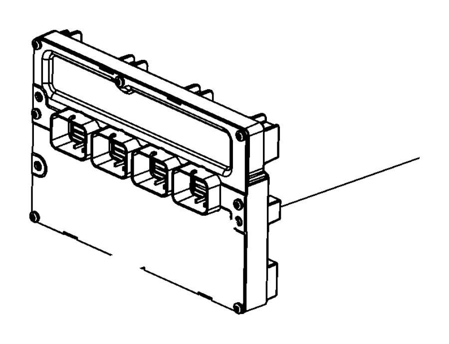 Jeep Grand Cherokee Engine Control Module. 5.7 LITER