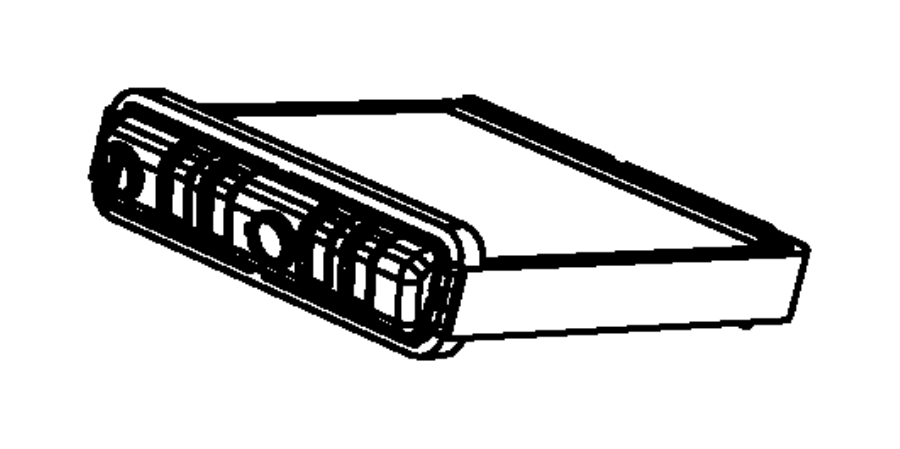 Chrysler Town & Country Hvac heater core. Make