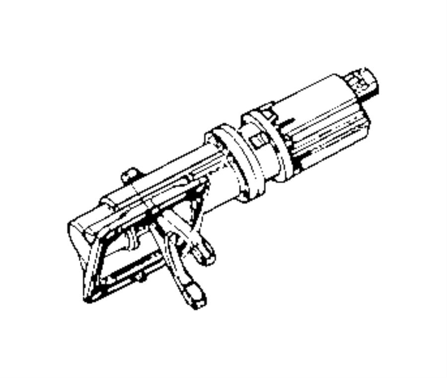 Ram 1500 Actuator. Lock. 4WD. AXLE ER. Differential Motor