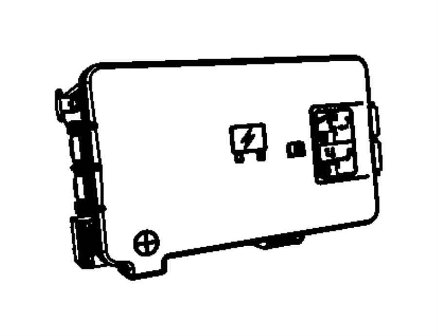Ram 2500 Fuse Box. 6.7 liter. Telematics, Lighting, FCA