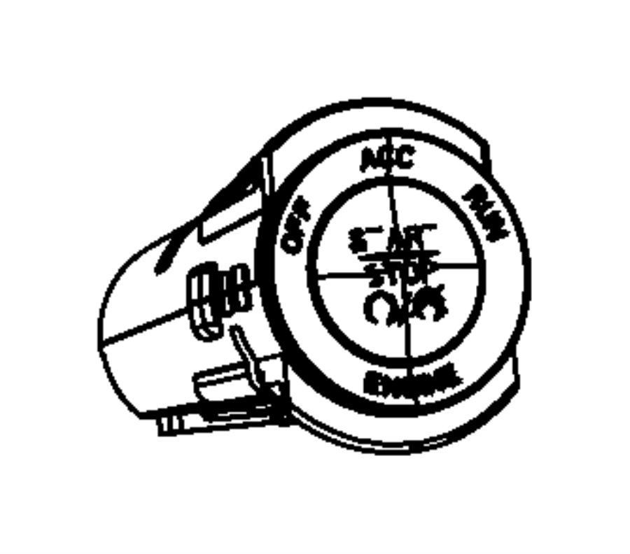 Dodge Durango Keyless ignition node. Module. Grand, switch