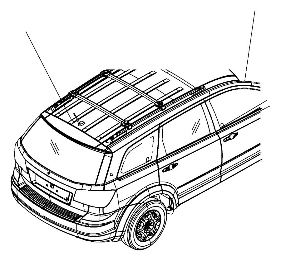 Jeep Grand Cherokee Radio Antenna Mast. Satellite, Repair