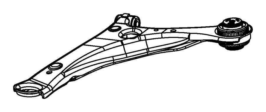 Dodge Grand Caravan Suspension Control Arm (Upper, Lower