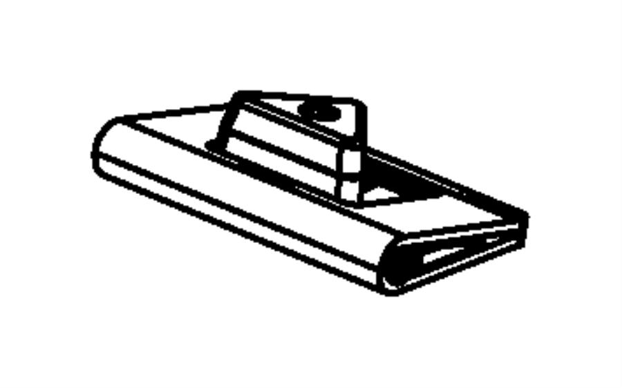 Dodge Caravan Door. Actuator. HVAC. 2006-07. Door actuator
