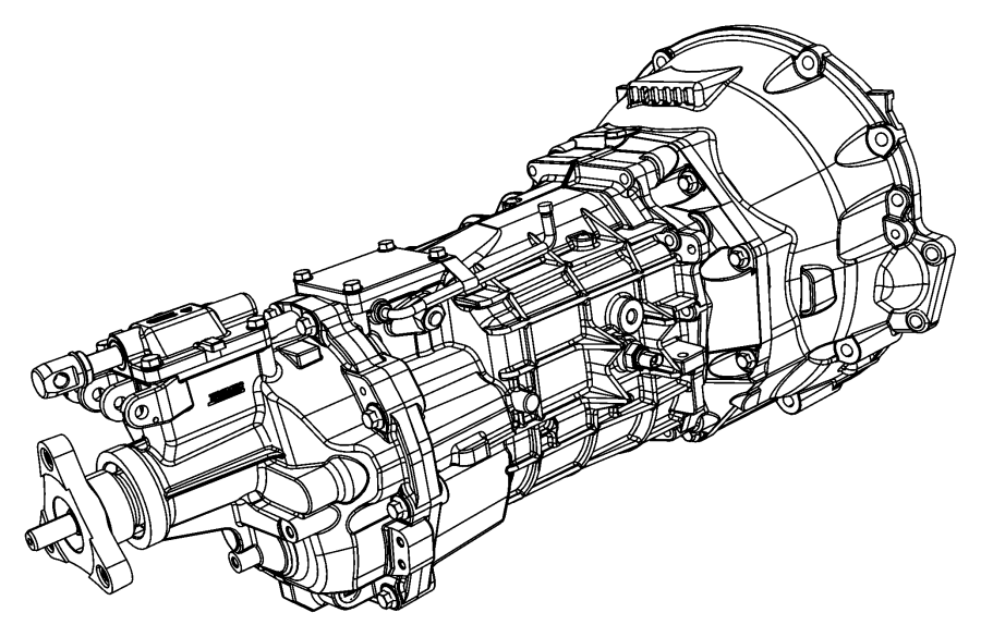 Dodge Challenger Manual Transmission Assembly. Manual