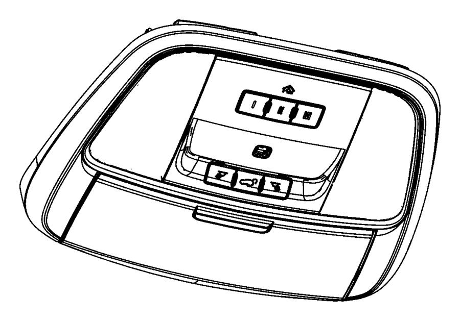 Dodge Durango Overhead Console. W/sunroof, w/o power lift