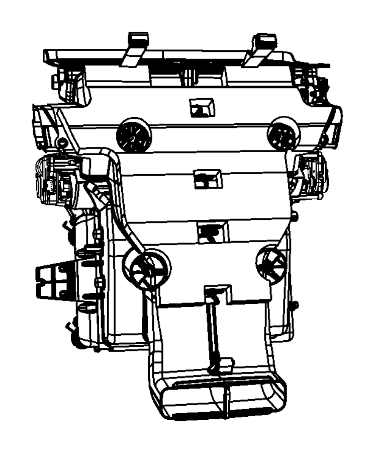 Jeep Grand Cherokee Hvac air inlet door actuator. Air