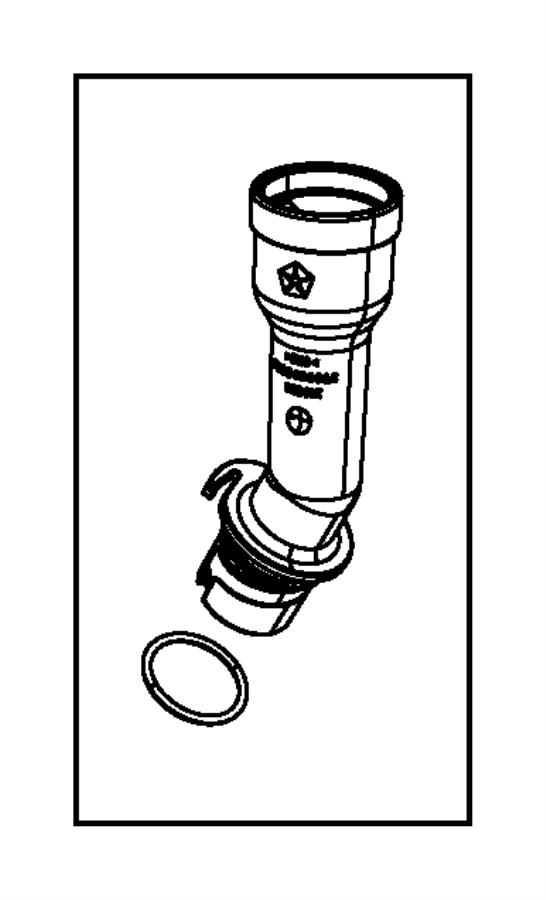 Chrysler Town & Country Engine Oil Filler Tube. 3.6 LITER