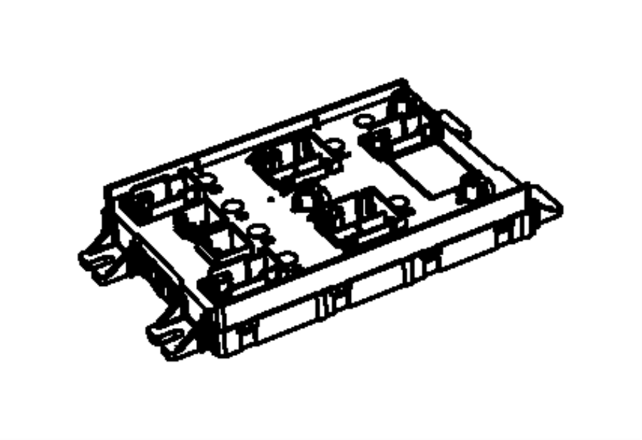 Dodge Journey Body Control Module. HID, Headlamps, Make