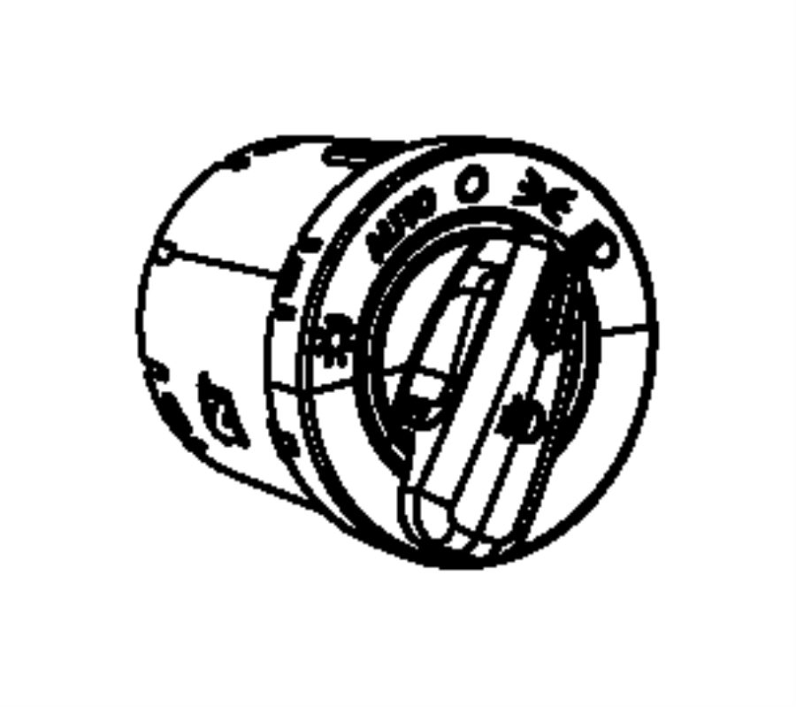 Dodge Grand Caravan Headlight Switch. Auto, Headlamps