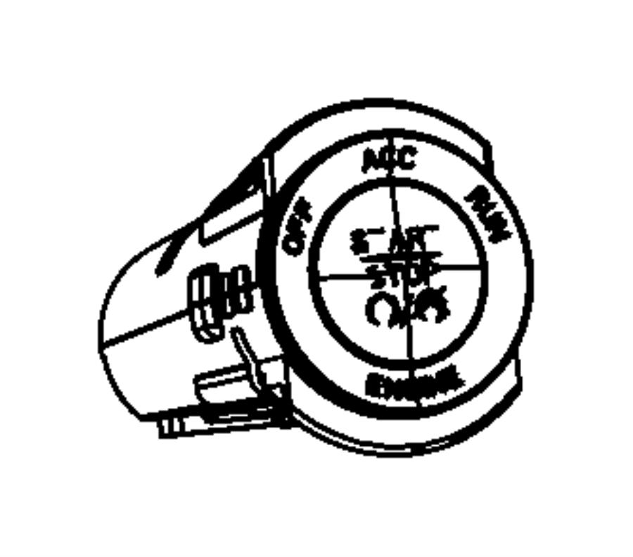 Jeep Grand Cherokee Keyless ignition node. Module