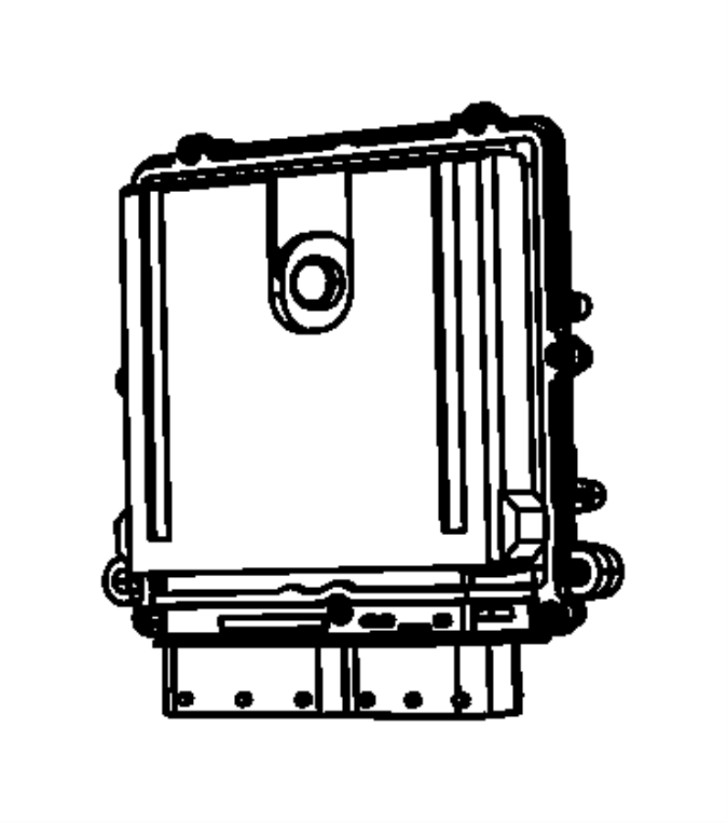 Jeep Wrangler Engine Control Module. 3.5 & 3.6 LITER. 3.6