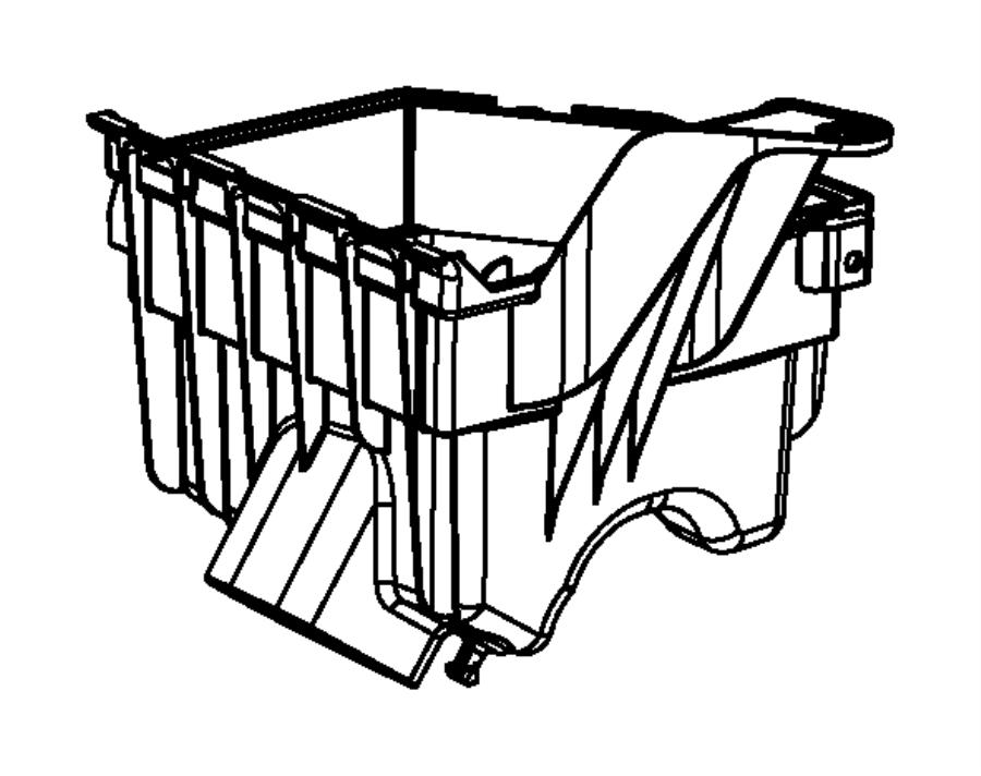Dodge Dart Air Filter Housing. W/O TURBO. W/TURBO. Cleaner