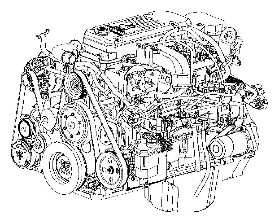 Dodge Ram 3500 Engine. Long block. Ram 2500, ram 3500