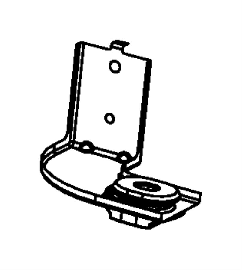 Jeep Compass Cooling module. Mount bracket. Upper bracket