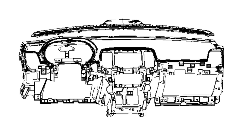 Jeep Grand Cherokee Dashboard Panel. INSTRUMENT, Make