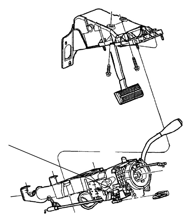 Ram 3500 Steering Column. Trans, Shift, Manual