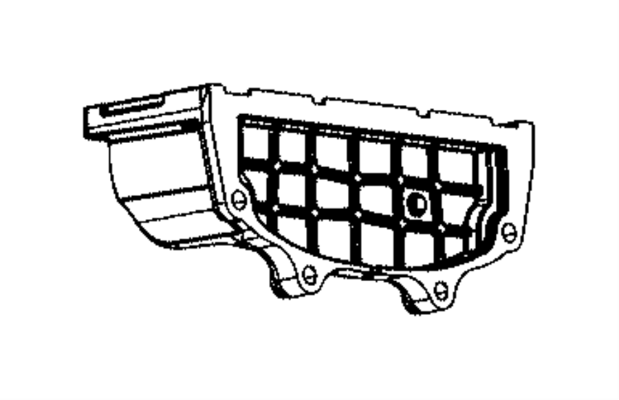 Jeep Grand Cherokee Clutch Flywheel Cover. 5.7 LITER. 6.4