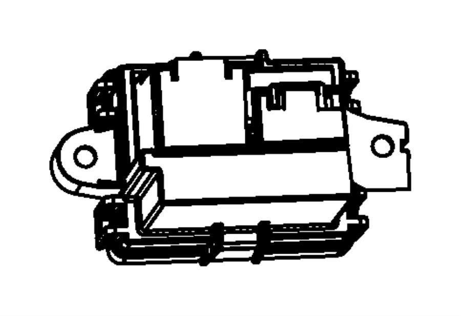 Dodge Durango Module. Motor. Blower. Control. Hvac. 2014