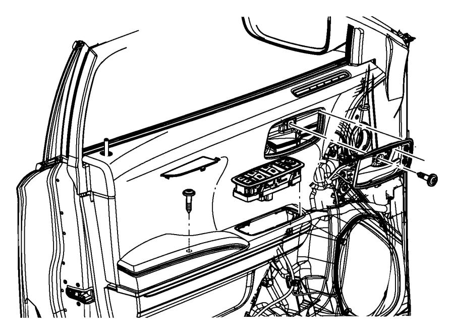 Dodge Charger Door Window Molding (Front). Premium audio