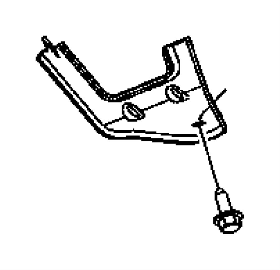 Chrysler Pacifica Engine Mount Bracket (Front). 3.5 LITER