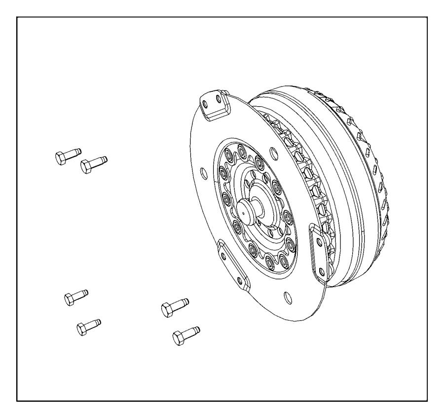 Dodge Challenger Automatic Transmission Torque Converter