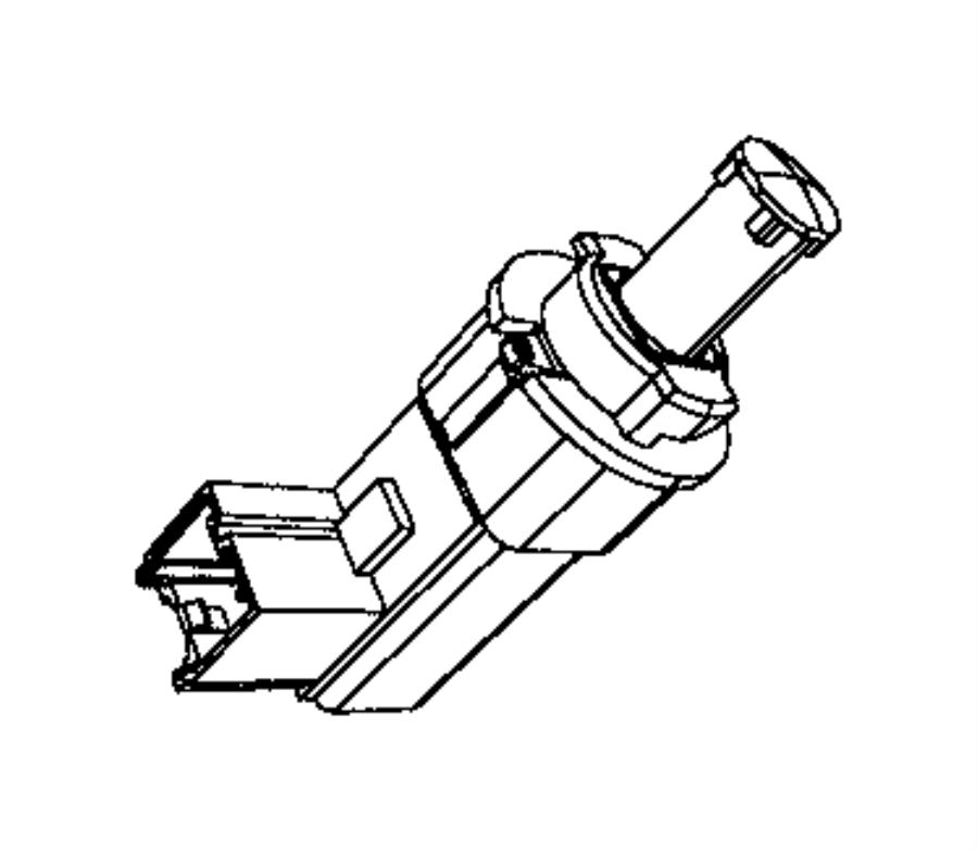 Jeep Grand Cherokee Brake Light Switch. Switch. Brake