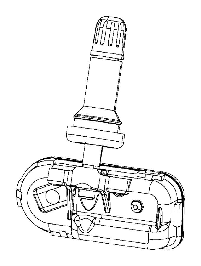 Jeep Cherokee Sensor. TIRE PRESSURE. Make, Monitoring