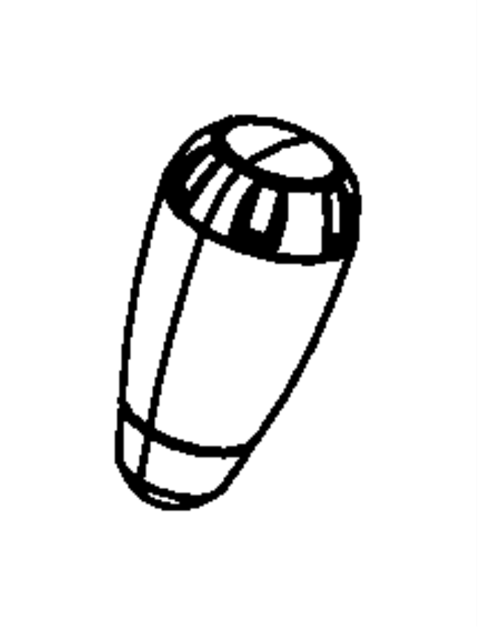 Jeep Wrangler Manual Transmission Shift Knob. 2011-18