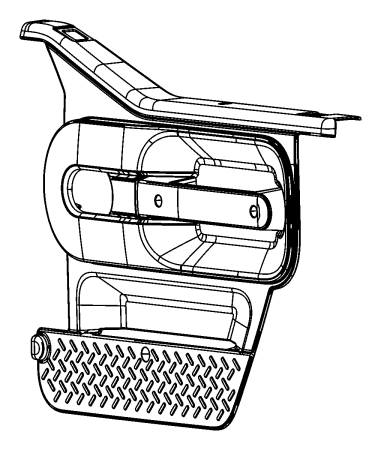 Jeep Wrangler Door Interior Trim Panel. Locks, FULL, Black
