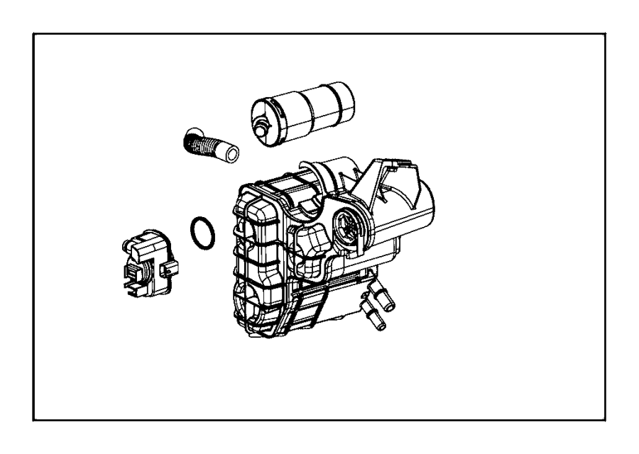 Jeep Cherokee Vapor Canister. Evaporative, Emissions