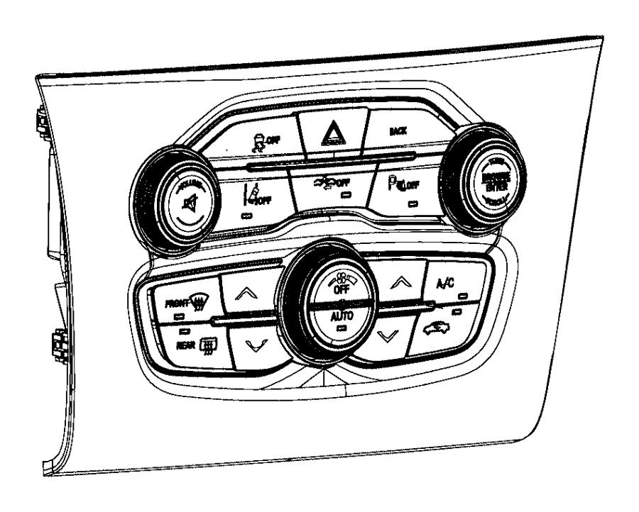 Chrysler 300 Radio Module Interface. 2015-20, w/lane