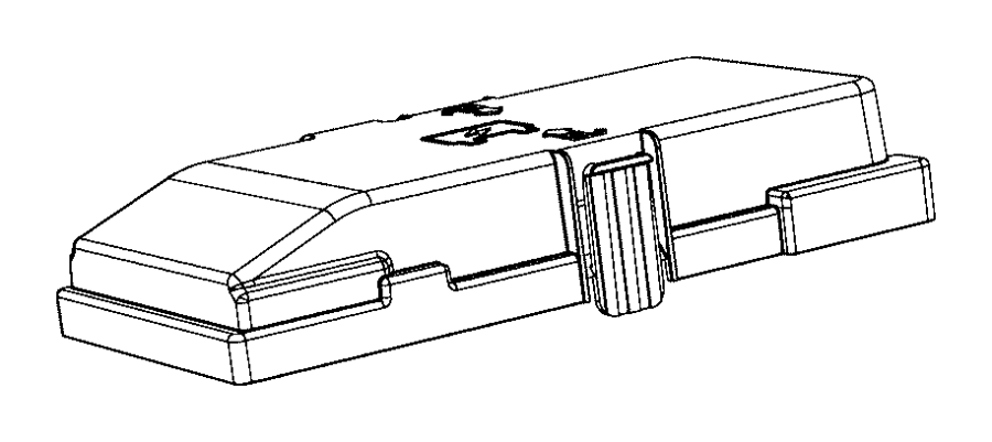Jeep Cherokee Fuse Box Cover. 2014-18. 2019-20. Telematics