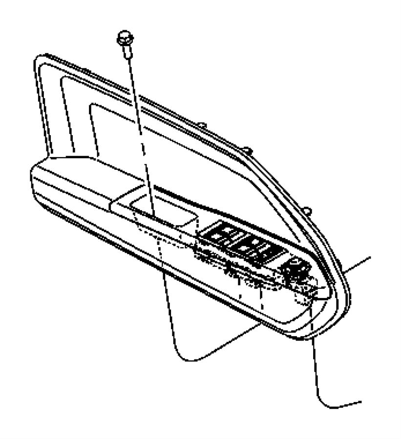 Jeep Compass Door Armrest. W/manual fold away mirror, gray