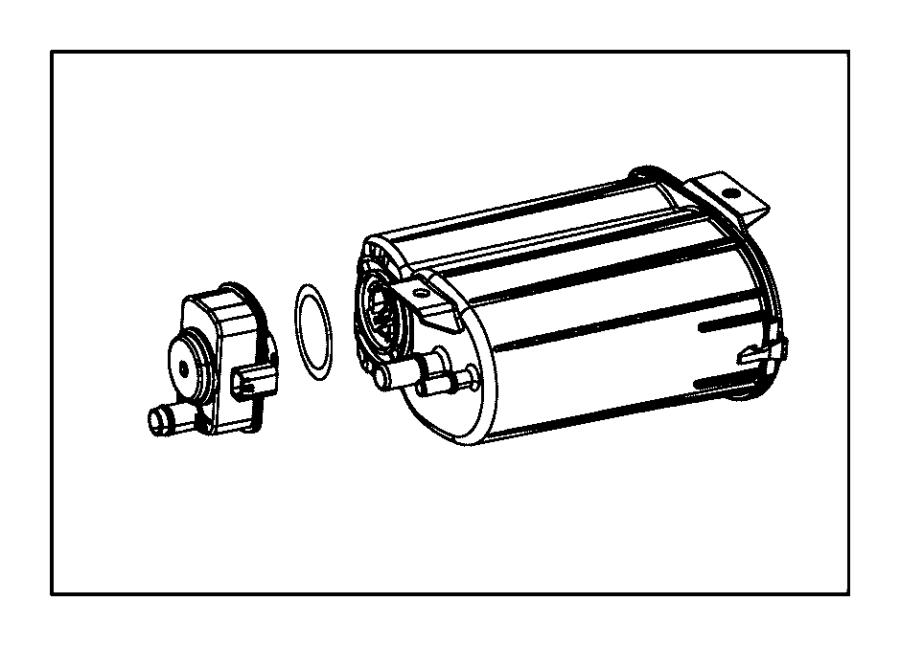 Jeep Patriot Vapor Canister. Evaporative, Emissions