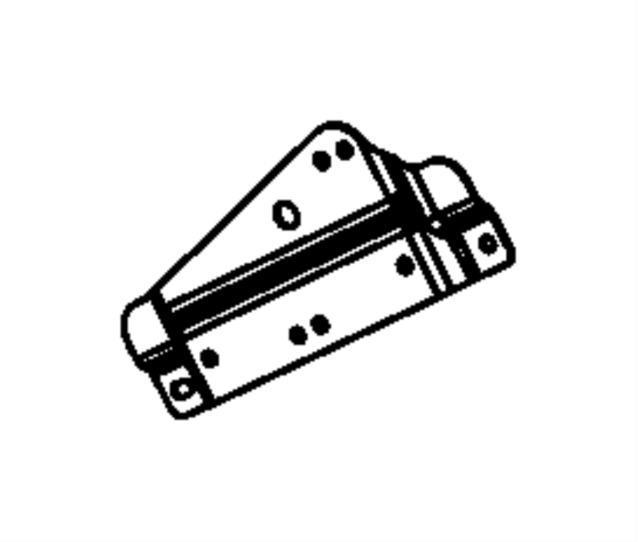 Jeep Wrangler JK Engine Wiring Harness Bracket
