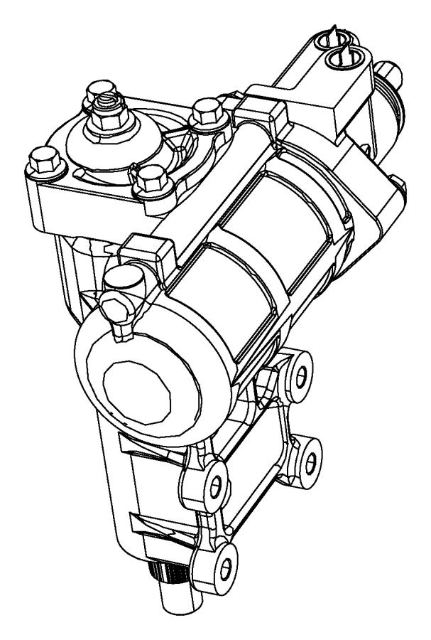 Jeep Wrangler Steering Gear Box. Repair, Make, Side