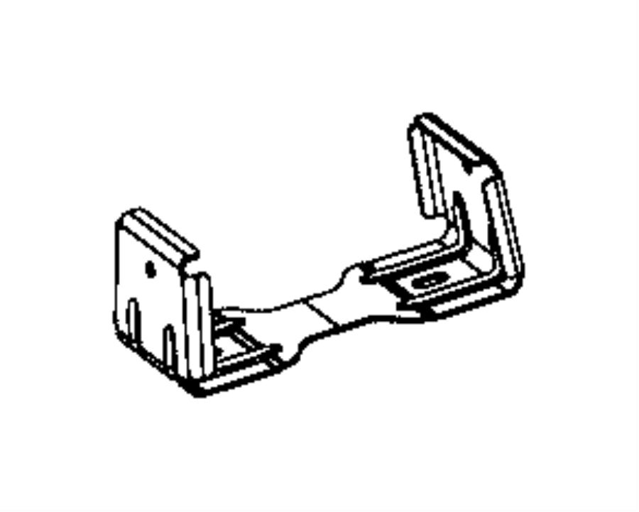 Dodge Challenger Console Bracket. 2015-20. FCA, Body